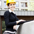 Female construction engineer — Stock Photo #11835670
