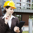 Female construction engineer — Stock Photo #11835687