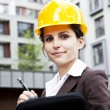 Female construction engineer — Stock Photo #11835697