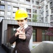 Female construction engineer — Stock Photo #11835781