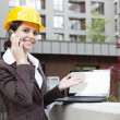Royalty-Free Stock Photo: Female construction engineer