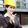 Female construction engineer — Stock Photo #11836051