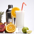Exotic Pina Colada Drink — Stock Photo