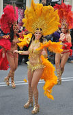 Samba dancers — Stock Photo