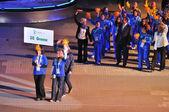 Olimpíadas especiais - cerimônia de abertura — Fotografia Stock