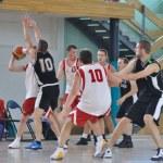 Basketball game — Stock Photo #11858216