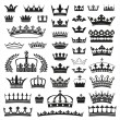 CROWNS collection — Stok Vektör
