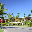 Luxury caribbean hotel resort — Foto de Stock