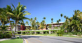 Resort de lujo hotel caribeño — Foto de Stock