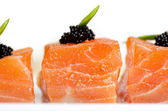 Salmon Slices — Stock Photo