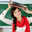 Young student girl — Stock Photo #11593095
