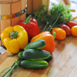 Fresh vegetables — Stock Photo #11836163