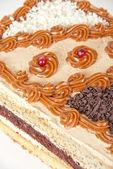 Torta de nueces sabroso — Foto de Stock