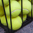 Постер, плакат: Tennis Balls Behind Bars