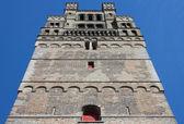 Torre da Igreja de nossa senhora em bruges — Fotografia Stock
