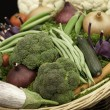 Basket of vegetables - 图库照片