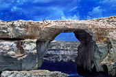 Azure Window Gozo near Malta. — Stock Photo