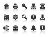 Internet icons — Vector de stock