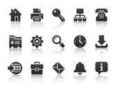 ícones da internet — Vetorial Stock