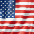 United States flag — Foto Stock #10885236