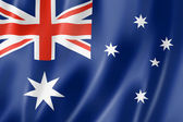 Australian flag — Stock Photo