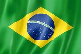 Brasilianische flagge — Stockfoto