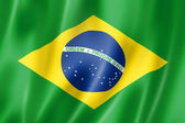 Brazilian flag — Stockfoto