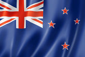 New Zealand flag — Stock Photo