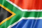 南非国旗 — 图库照片