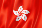 Hong Kong flag — Stock Photo