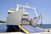 Cargo boat — Stock Photo