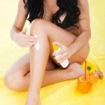 Beautiful summer woman — Stock Photo #11836584