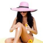 Beautiful summer woman — Stock Photo #11836589