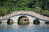 Bridge in Yangshuo Guilin, China — Stock Photo