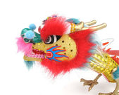 New year decoration with dragon art — Stock Photo