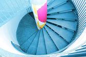 Escalier design moderne dans la maison — Photo