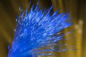 Fiber optic zobrazení data nebo internetové komunikační koncept — Stock fotografie