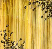 Ontwerp van chinese bamboe bomen met textuur van handgeschept papier — Stockfoto