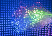 Fiber optic background — Stock Photo