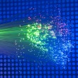 Fiber optic background — Stockfoto