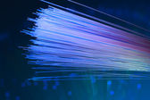 Fiber optical picture with details and light effects — Stock Photo
