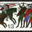 Stock Photo: Postage stamp GB 1966 Battle of Hastings