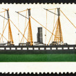 Postage stamp GB 1969 S.S. Great Britain, British Ship — Stock Photo