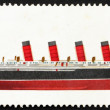 Postage stamp GB 1969 R.M.S. Mauretania, British Ship — Stock Photo