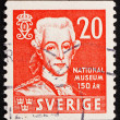 Postage stamp Sweden 1942 Gustav III, King of Sweden - ストック写真