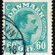 Postage stamp Denmark 1921 Christian X, King of Denmark - Foto de Stock