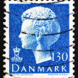 Postage stamp Denmark 1975 Margrethe, Queen of Denmark - Stock fotografie