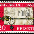 Postage stamp Switzerland 1960 Founding Charter and Scepter of U — Stock Photo