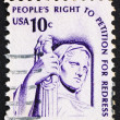 Postage stamp USA 1975 Contemplation of Justice — Stock Photo