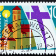 Stock Photo: Postage stamp Germany 1990 Rummelsberg Diaconal Institution